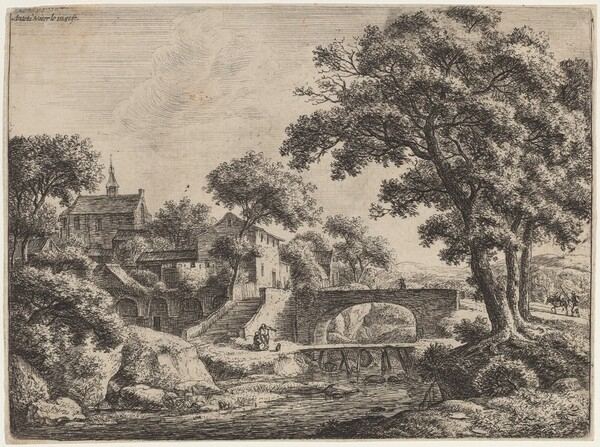 A Wooden and a Stone Bridge