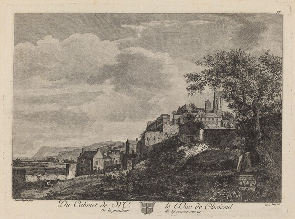 View of a Hilltown
