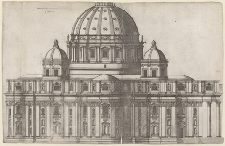 Longitudinal View of Saint Peter's, Rome