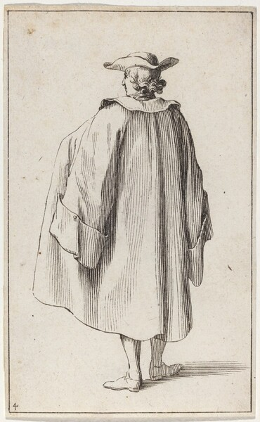 Standing Man Viewed from Behind