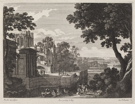 Large Landscape with a Ruined Abbey