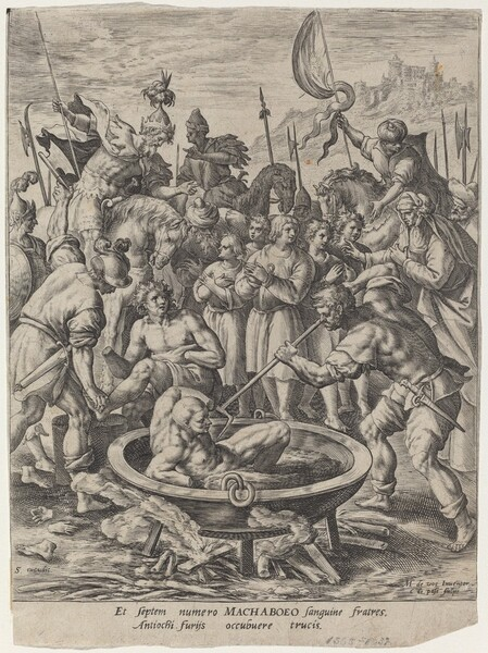 The Seven Maccabean Brothers Killed by Antiochus