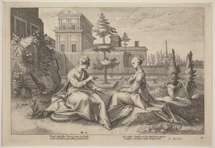 Juno in the Form of Beroe, Warning Semele