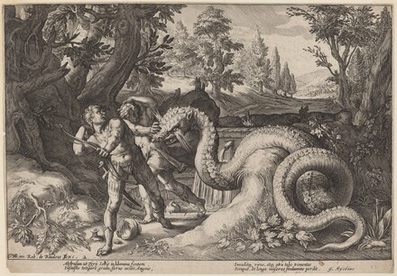 The Dragon Devouring the Companions of Cadmus