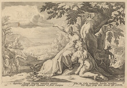 Clymene Urging Phaeton to Find Helios