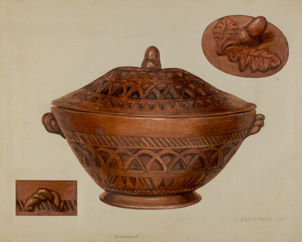 Pa. German Earthenware Bowl