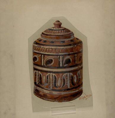 Pa. German Jar