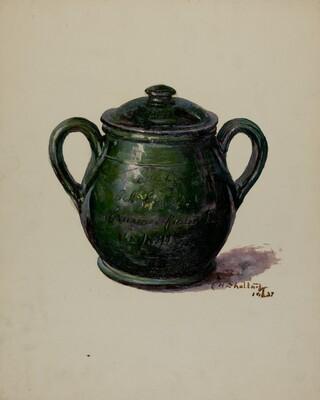 Pa. German Jar