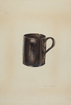 Pa. German Moravian Loving Cup