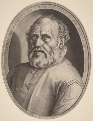 Portrait of Dirck Volckertcz. Coornhert
