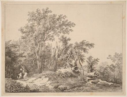 Landscape with Broken Tree