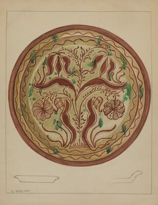 Pa. German Plate