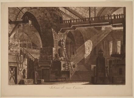 Interior of a Prison [Interno di un Carcere]
