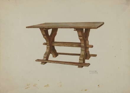 Pa. German Table