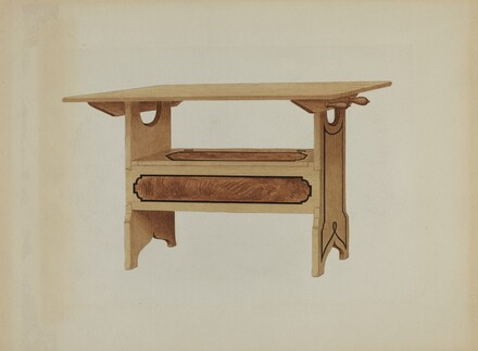 Pa. German Hutch Table