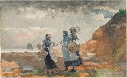 Three Fisher Girls, Tynemouth