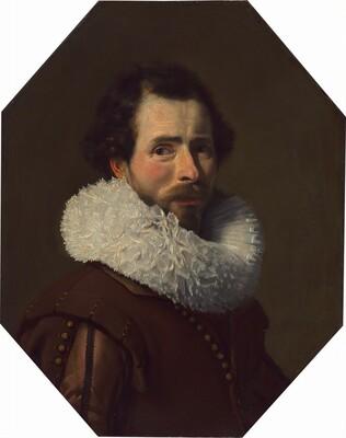 Portrait of a Gentleman Wearing a Fancy Ruff