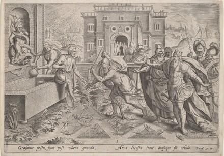 The Plague of Locusts