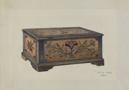 Pa. German Sample Chest