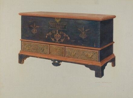 Pa. German Chest