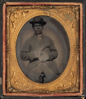 Portrait of a USCT Private