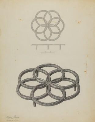 Pa. German Trivet