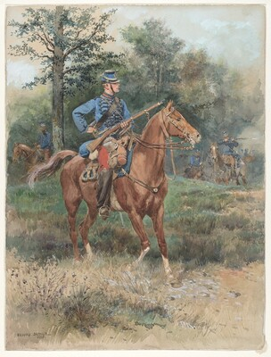 Chasseur à Cheval (Soldier on Horseback)