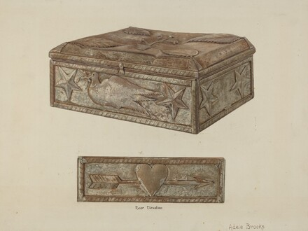 Pa. German Bridal Box