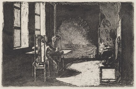 The Artist in His Mother's Room, Danzig