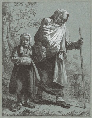 Peasant Woman with Two Children