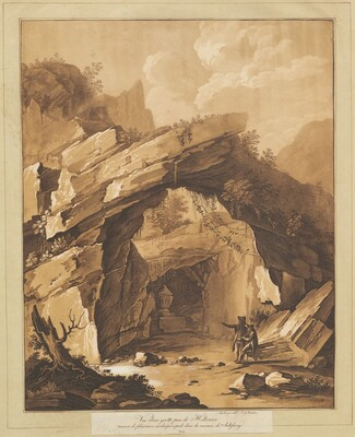 View of the Grotto by Heilbrunn, near Salzburg