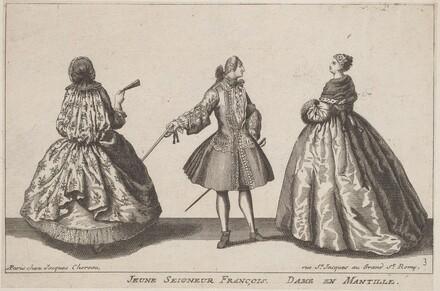 Jeune Seigneur François/Dame en Mantille