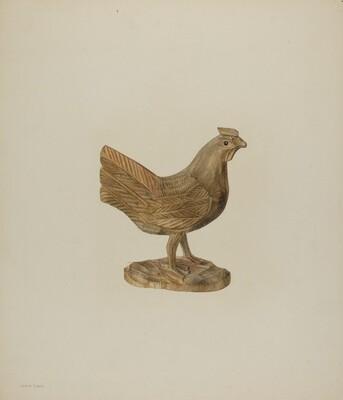 Pa. German Toy Hen