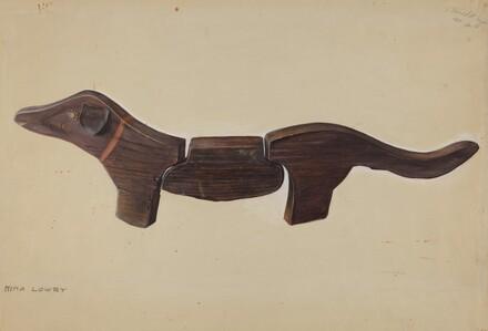 Pennsylvania German Toy Dachshund