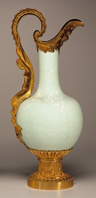 Vase Mounted as an Ewer