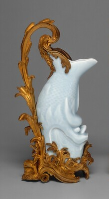 Vase in the Form of a Carp, Mounted as an Ewer