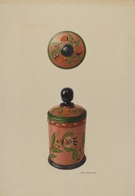Pa. German Saffron Box