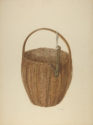 Zoar Apple Basket