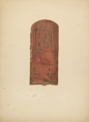 Zoar Pottery Roof Tile