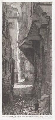 Rue Grenier sur l'eau, côté de la rue des Barres