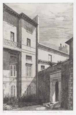 Rue St. Lazare 56, Maison de Paul Delaroche et Horace Vernet