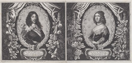 Louis XIII and Anna d'Austriche
