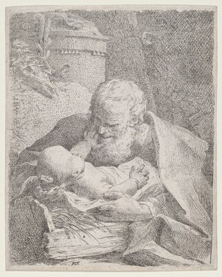 Saint Joseph with the Christ Child