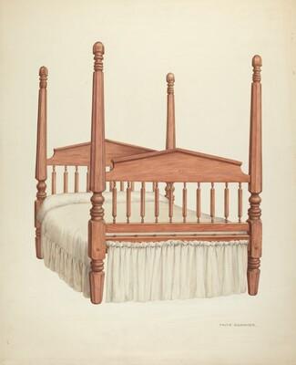 Zoar Four-Post Bed
