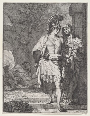 Aeneas and the Sibyl