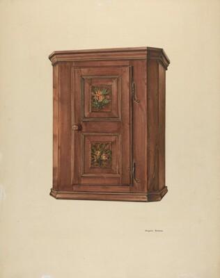 Zoar Cherry Bonnet Cabinet