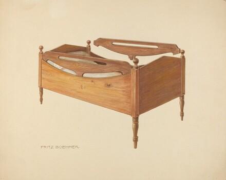 Zoar Child's Bed