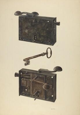 Zoar Lock w/ Key