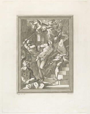 Flagellation of a Saint