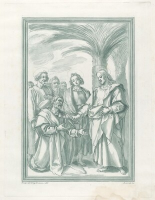 Christ Consigning the Keys to Saint Peter